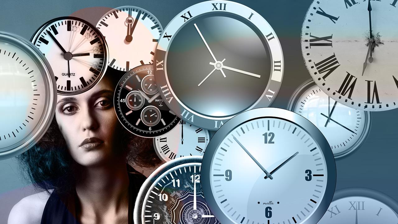 tijd vrouw