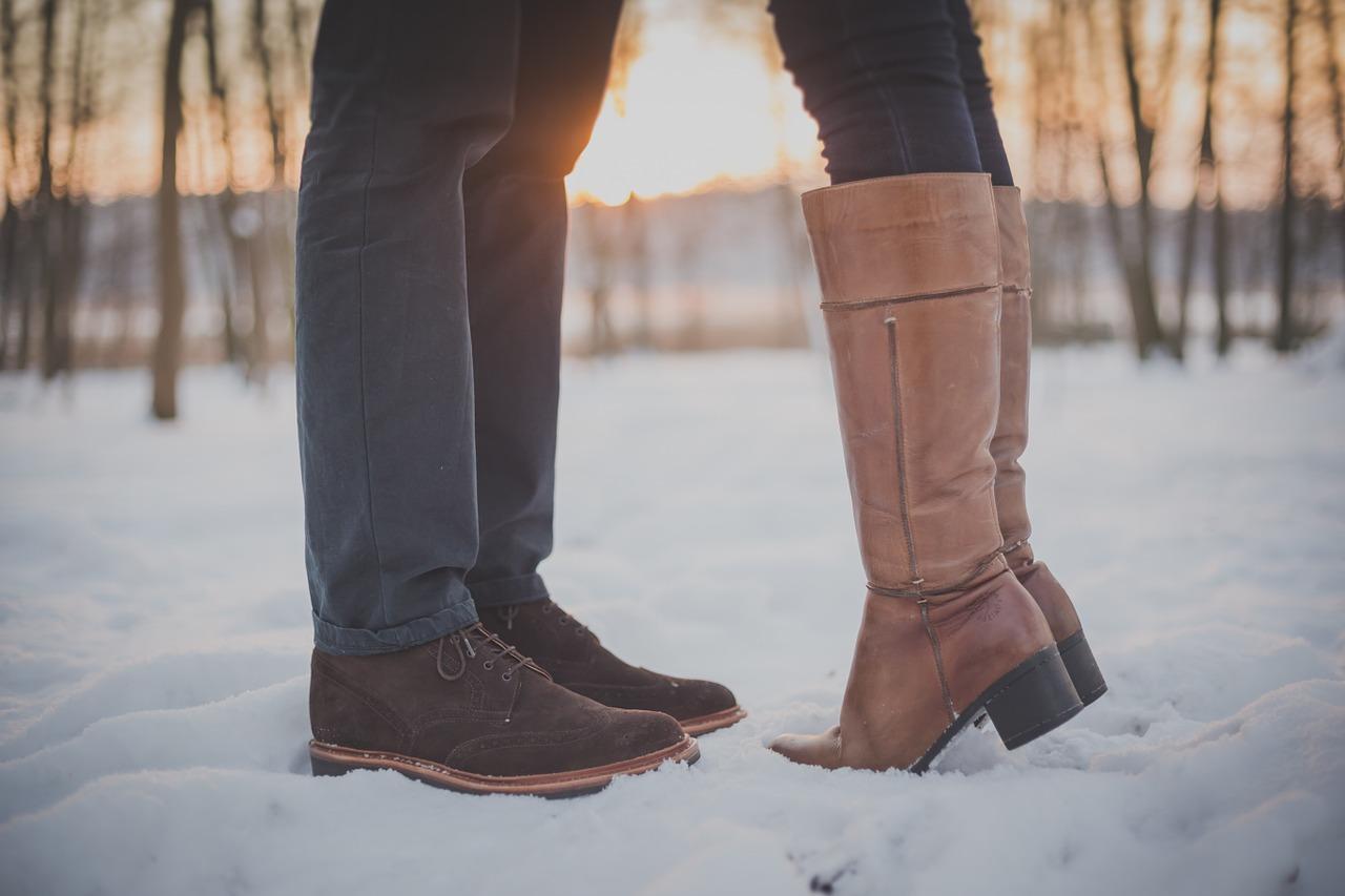 voeten kussen